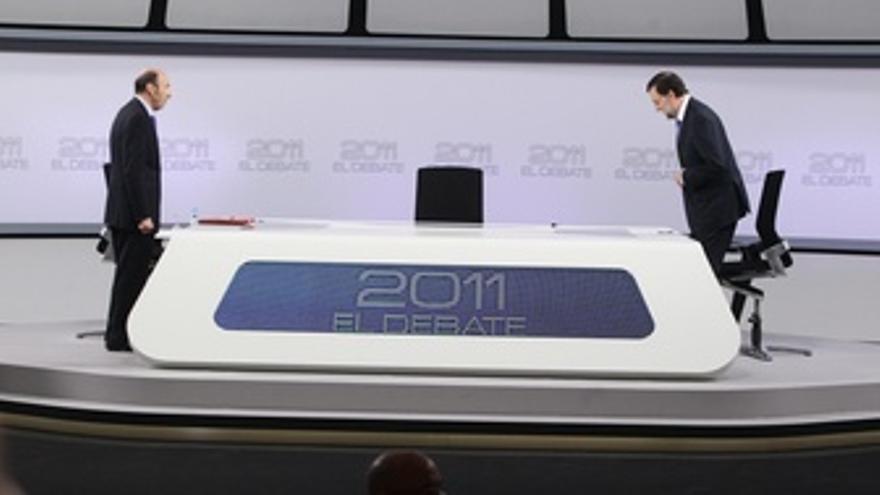 Debate Rajoy Y Rubalcaba