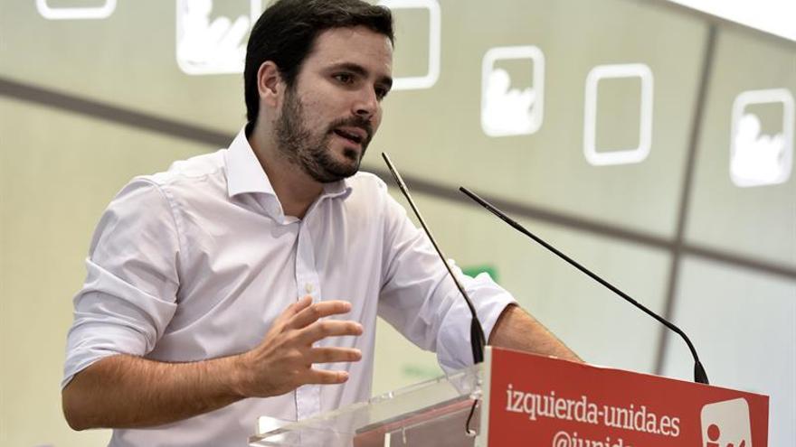 Garzón no asistirá a la coordinadora federal de IU por problemas de salud