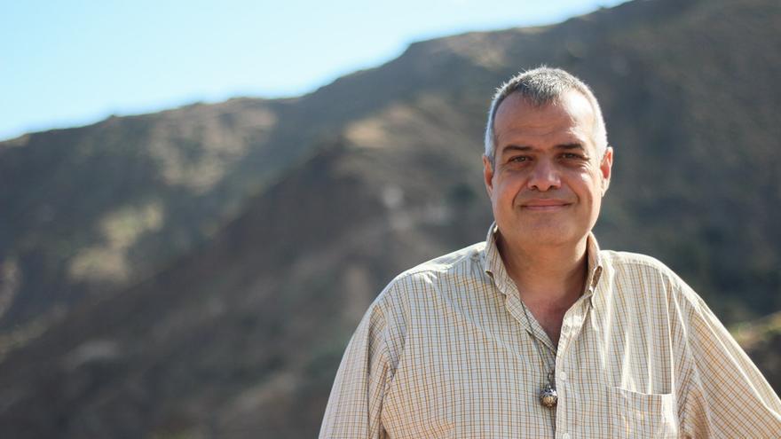 El candidato a la Alcaldía de Hermigua por la ASG, Antonio Febles