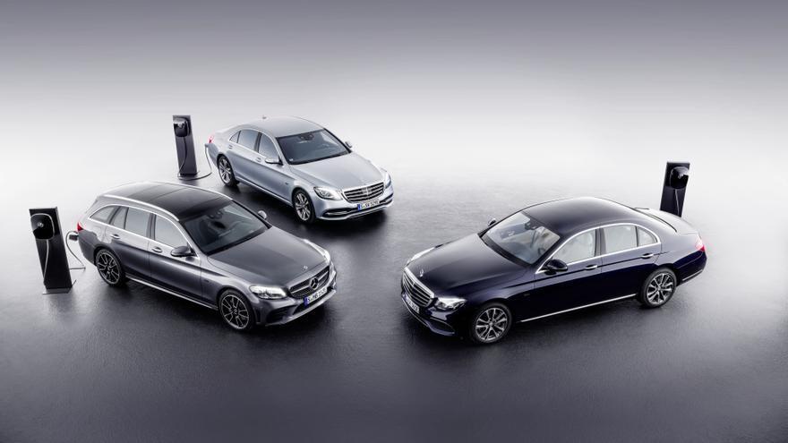 Los Mercedes Clase C y Clase E serán los dos modelos que utilicen esta nueva motorización.