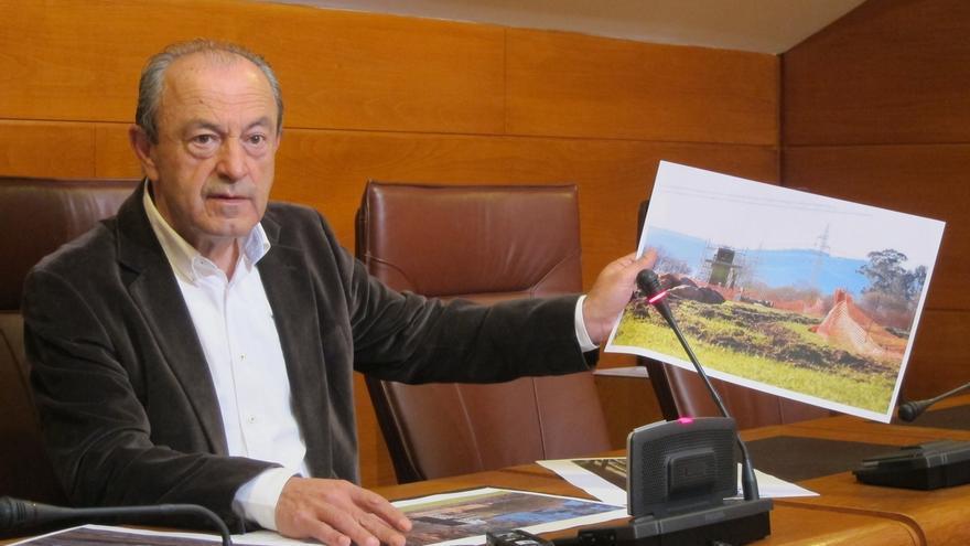 Marcano denuncia que se han iniciado las obras de la telecabina de Cabárceno sin licencia
