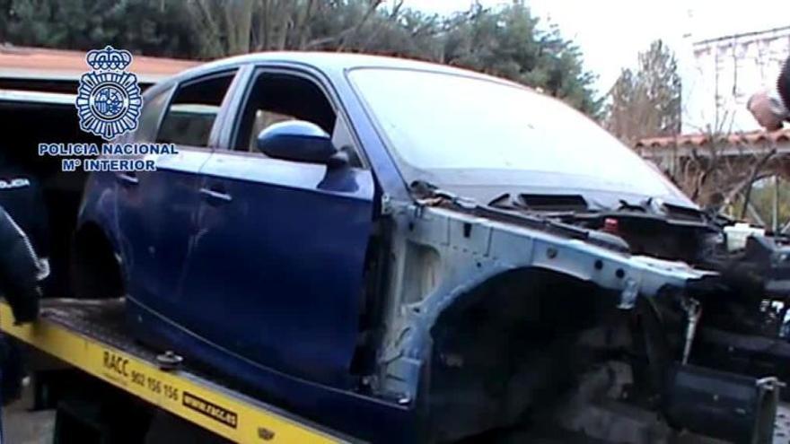 Seis detenidos por denuncias falsas de robo de coches para cobrar la indemnización