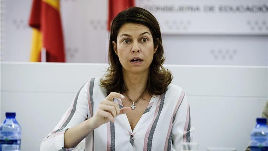 Dimite la consejera de Educación de Madrid por su imputación en  caso Púnica