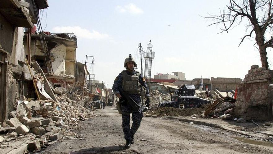 Los bombardeos de la coalición matan a 4 cabecillas del EI en Mosul