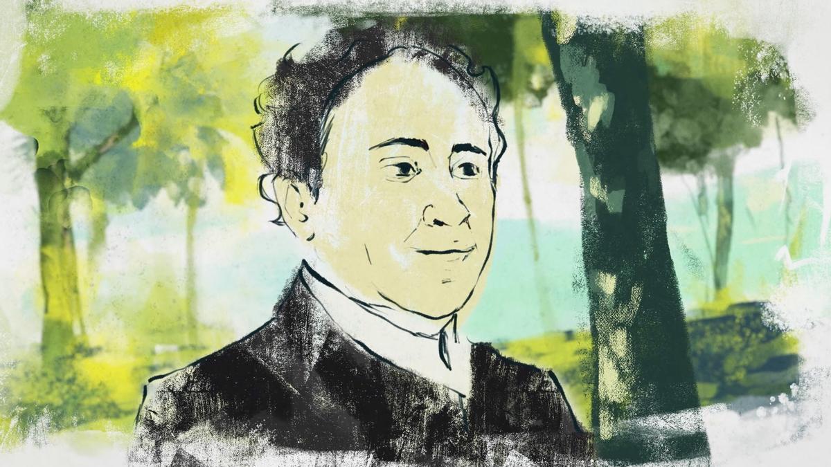 Imagen de la película 'Antonio Machado. Los días azules'.