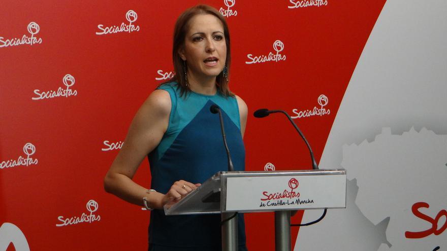 La portavoz del PSOE en Castilla-La Mancha, Cristina Maestre