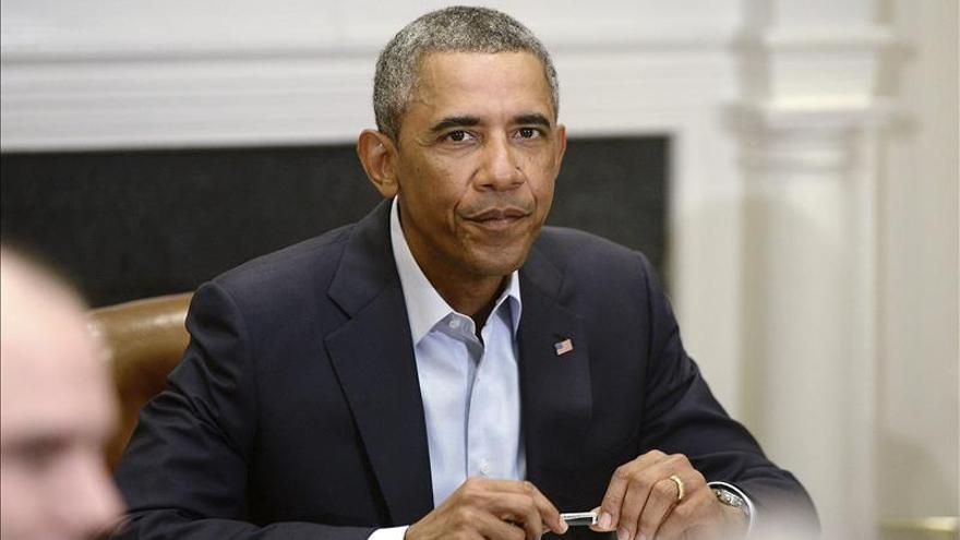 """Obama asegura una estrategia """"a largo plazo"""" en Irak y aumenta los bombardeos"""