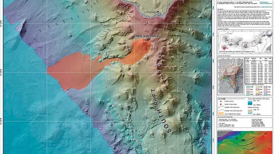 El volcán submarino de El Hierro aumentó la actividad metabólica bacteriana
