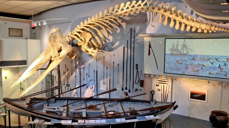 El Museo de los balleneros de la mítica isla de Nantucket, punto de partida de 'Moby Dick'.