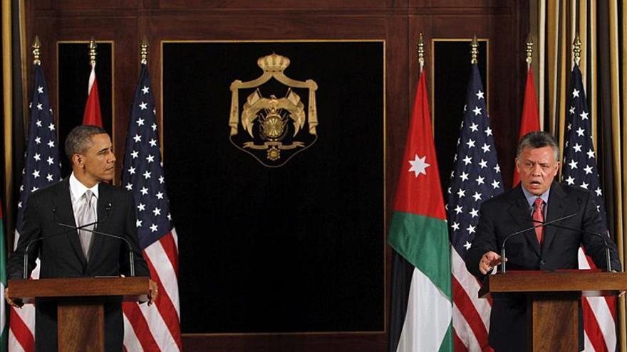 Obama recibe hoy en la Casa Blanca al rey Abdalá II de Jordania