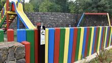 El Rosario reabre los parques infantiles instalando dosificadores públicos para el lavado de manos