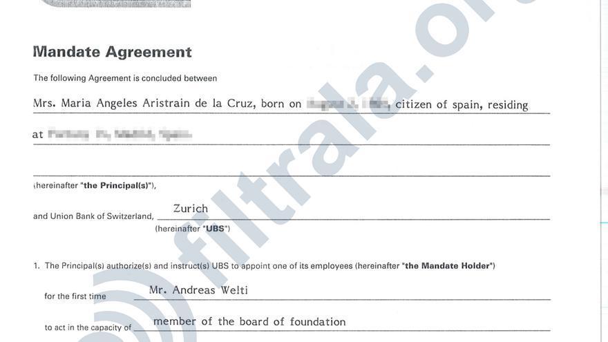 Nombramiento de administrador en la Fundación Laguardia de Liechtenstein.