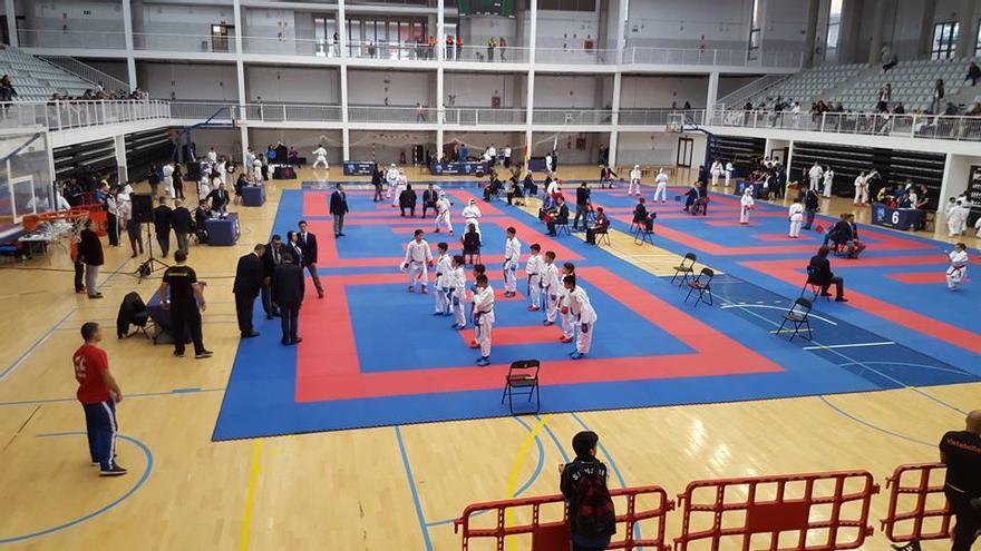 Imagen de archivo de una competición de kárate.