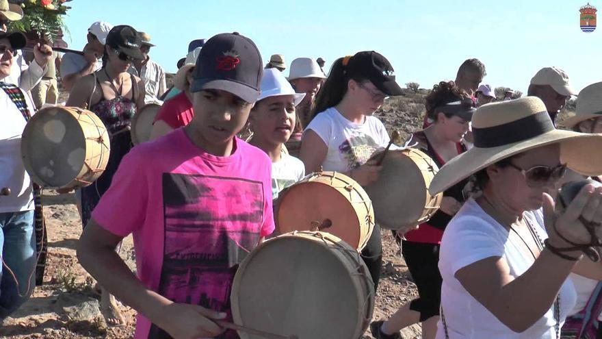 Chácaras y tambores en Alajeró