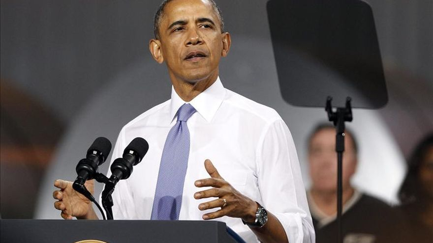 """Obama pide a senadores una """"pausa"""" en la búsqueda de nuevas sanciones a Irán"""