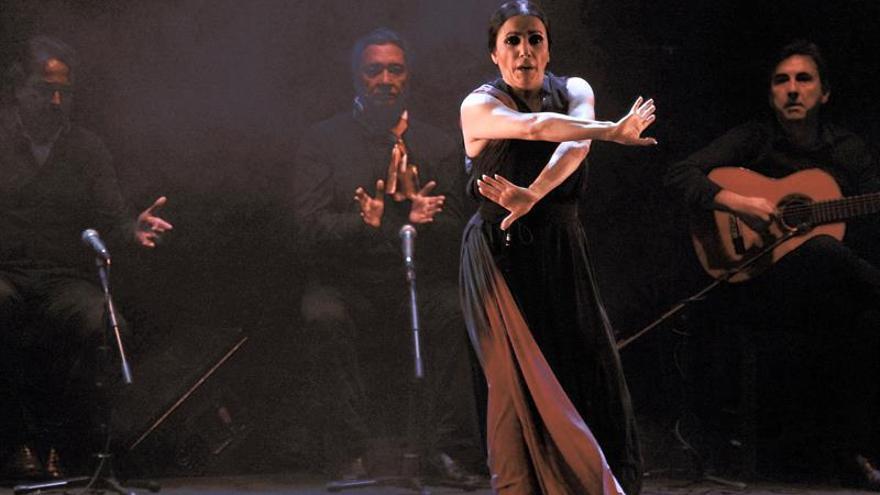 La bailaora y coreógrafa granadina Eva Yerbabuena