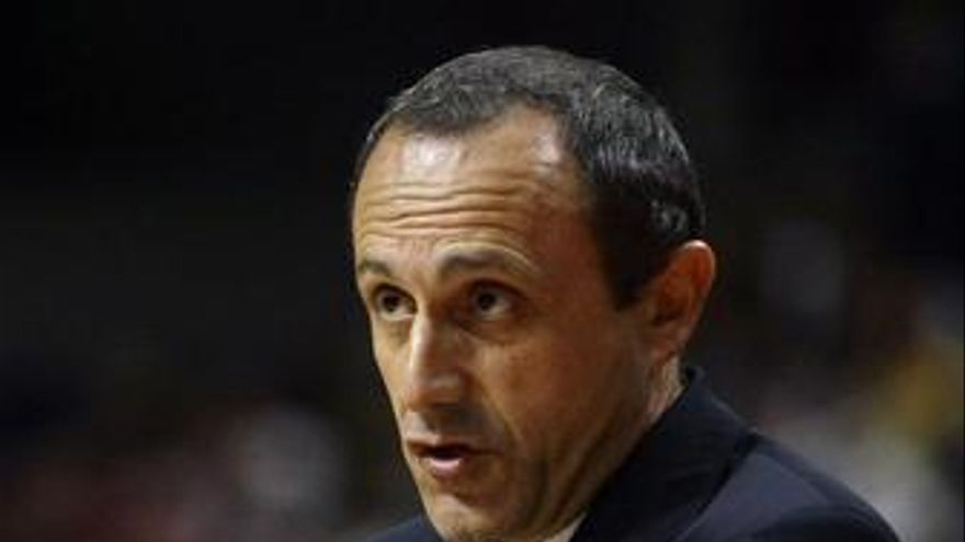 El entrenador del Real Madrid de baloncesto, Ettore Messina
