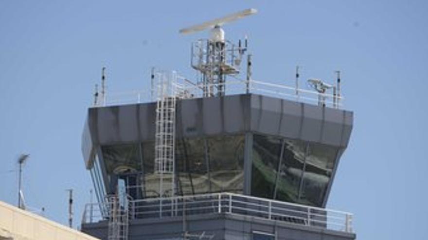 Torre de control en Barajas