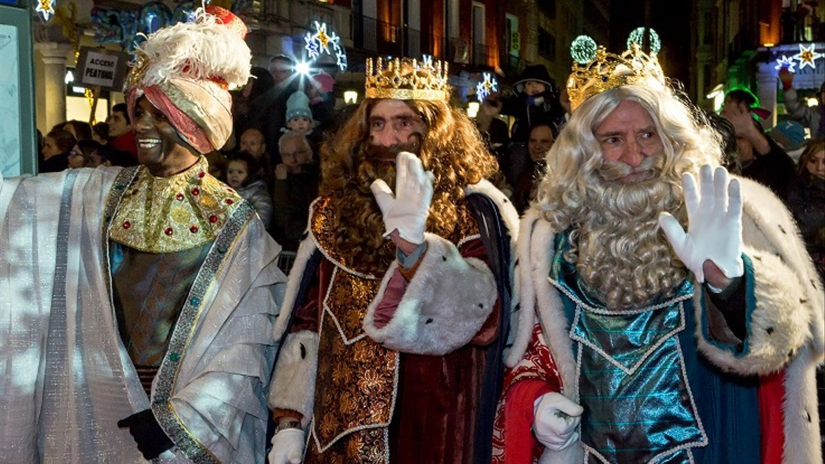 Los Reyes Magos, el año pasado en Valladolid.