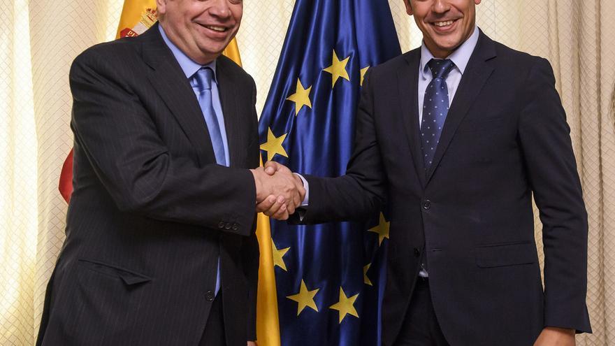 Luis Planas y Narvay Quintero, este miércoles en Madrid, donde se han reunido