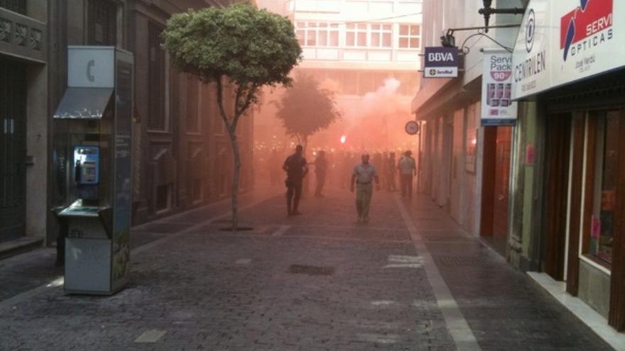 De las protesta de los bomberos #1
