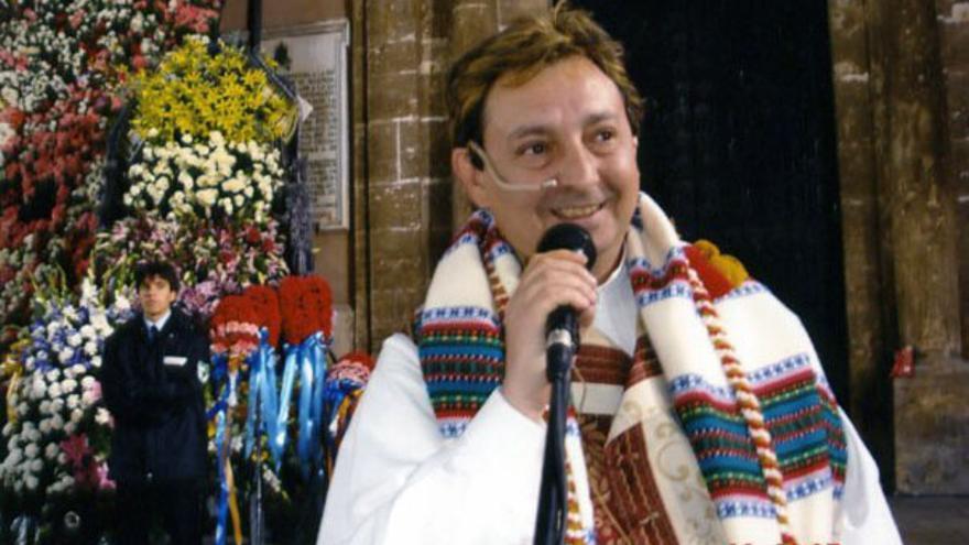 Paco Sivera, vocal de la delegación de festejos de Junta Central Fallera