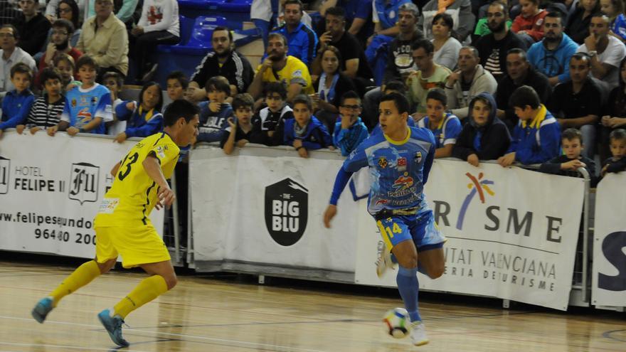 Imagen del encuentro entre el Peñíscola y el Gran Canaria FS,