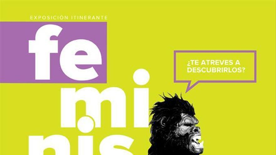 Cartel de la exposición 'Feminismos: ¿Te atreves a descubrirlos?'