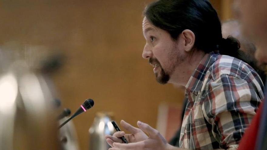 Pablo Iglesias advierte de que votarán en contra del decreto de vivienda si no incluye la limitación de precios