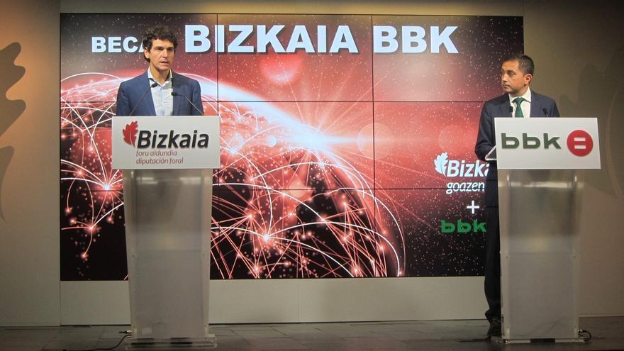 Once jóvenes vizcaínos se formarán en excelencia y trabajarán en empresas punteras de Bizkaia con las becas Bizkaia BBK