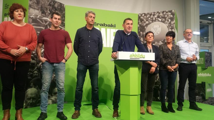 """Otegi dice que """"sin la agenda vasca democratizadora"""" el Estado está """"condenado a la inestabilidad y autoritarismo"""""""