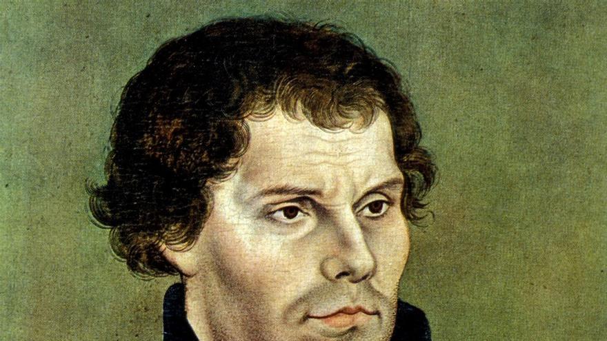 Retrato de Martín Lutero (1483-1546)