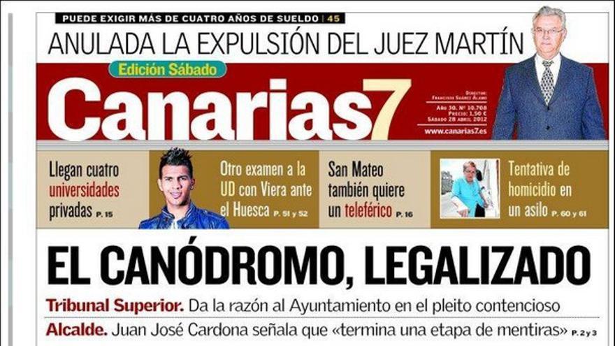 De las portadas del día (28/04/2012) #1