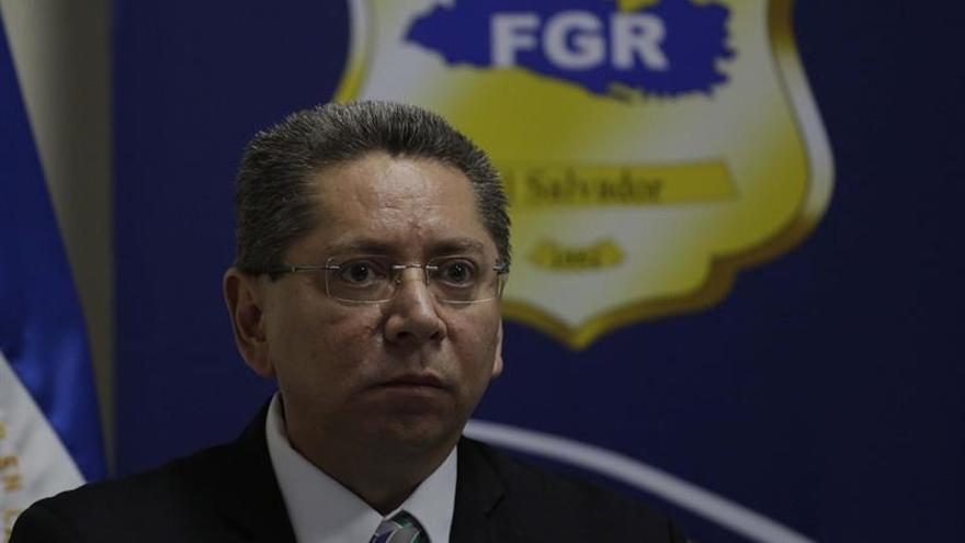 En la imagen un registro del exfiscal general de El Salvador, Douglas Meléndez.
