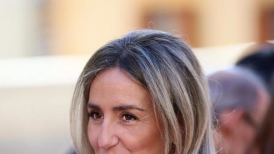 La alcaldesa de Toledo y candidata del PSOE a la reelección, Milagros Tolón