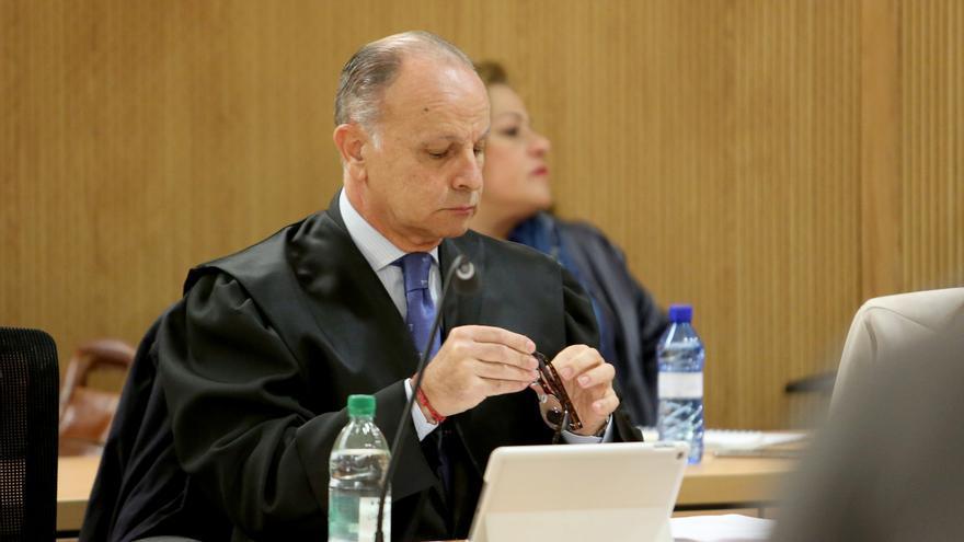 Jorge Rodríguez en una de las sesiones del juicio del caso Faycán