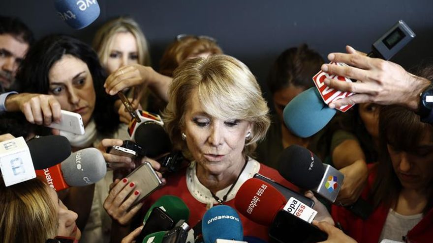 Aguirre, tras su declaración como testigo en Gürtel.