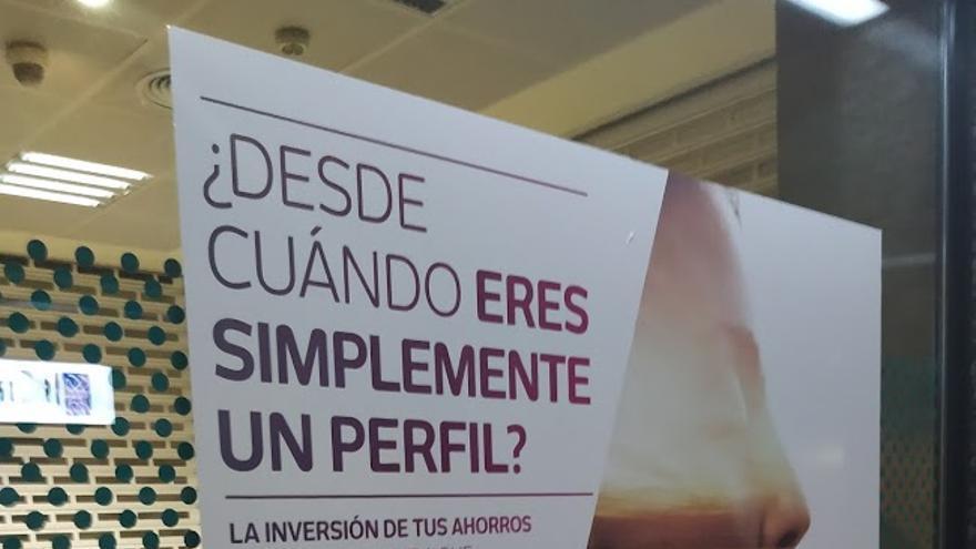 Campaña publicitaria de una entidad bancaria con una inquietante pregunta retórica