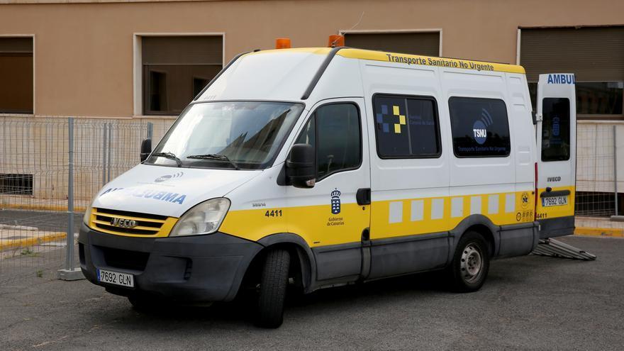 Ambulancias del Servicio de Urgencias Canario.