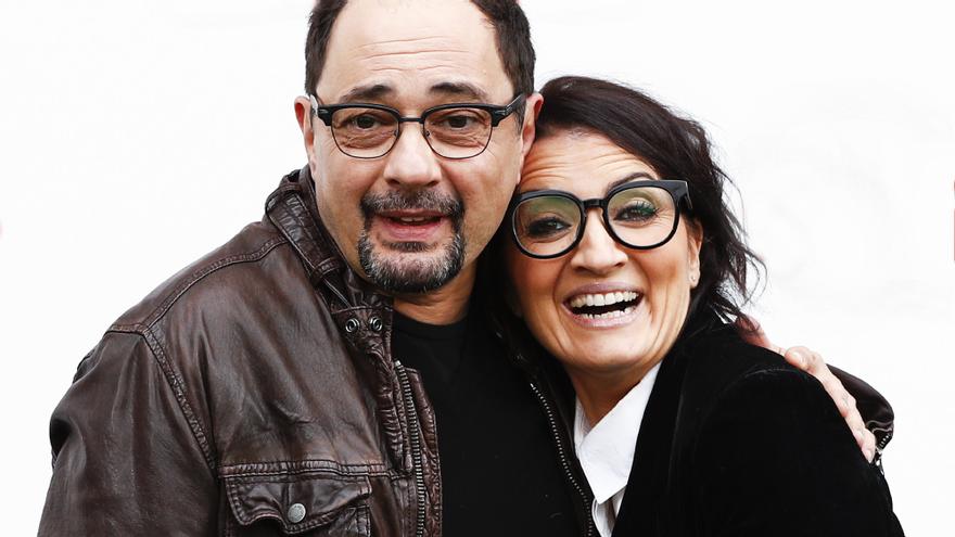 Silvia Abril y Jordi Sánchez