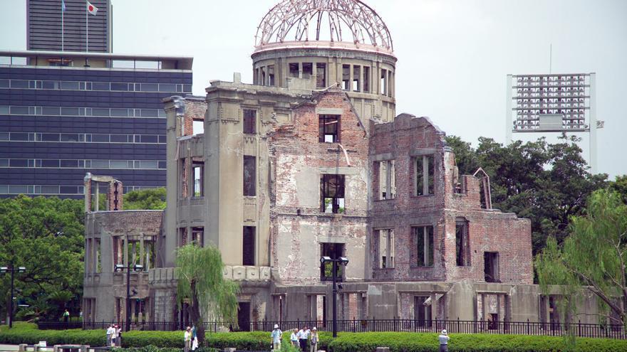 El Monumento de la Paz de Hiroshima