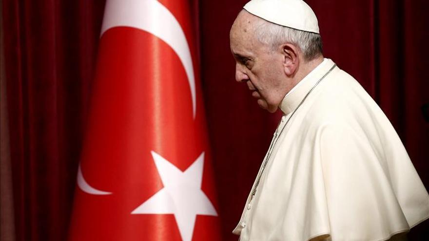 El papa Francisco llega a Estambul