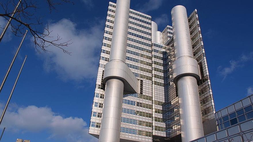 Un edificio inteligente, el protagonista de la ficción creada por los hermanos Olivares