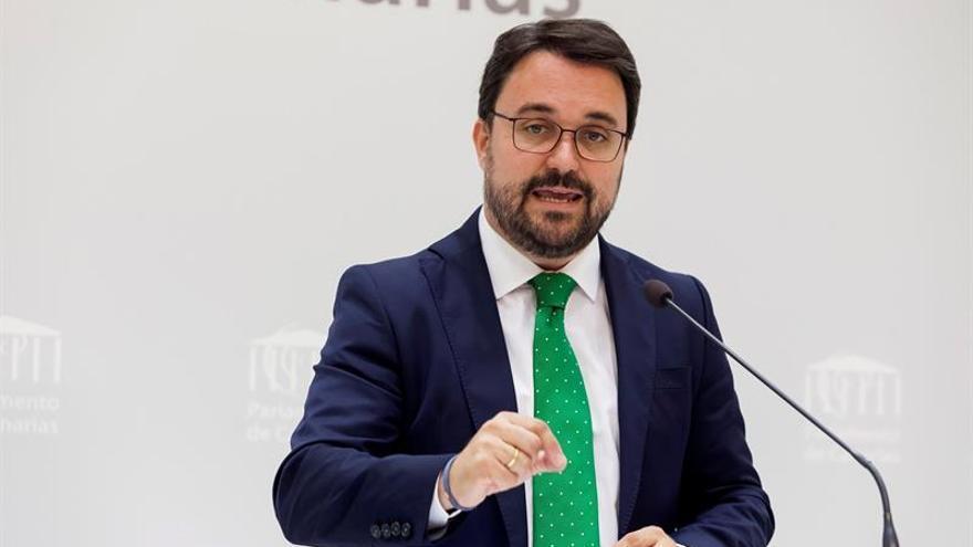 El presidente del grupo parlamentario del Partido Popular, Asier Antona. EFE/Ramón de la Rocha