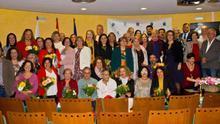 Foto de los homenajeados.