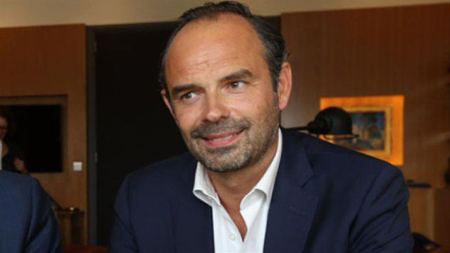 Édouard Philippe, el primer ministro de Macron