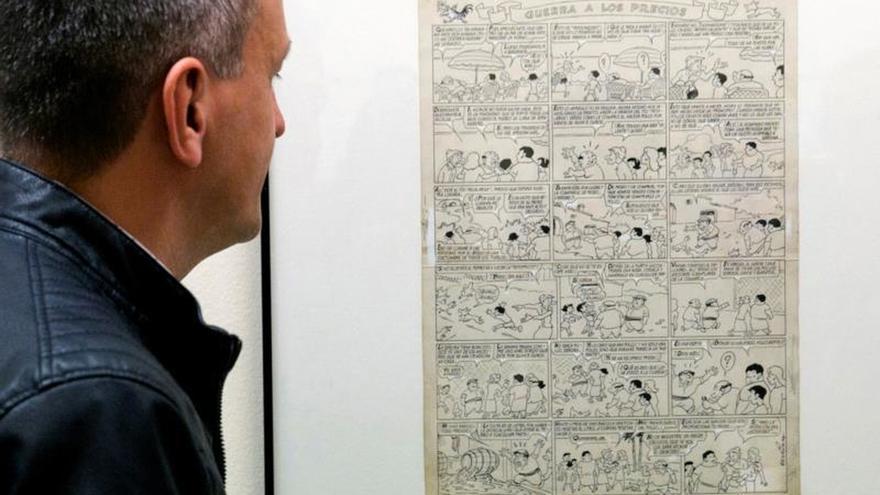 De Zipi Zape a Gummy Girl, un recorrido en viñetas por la historia de España