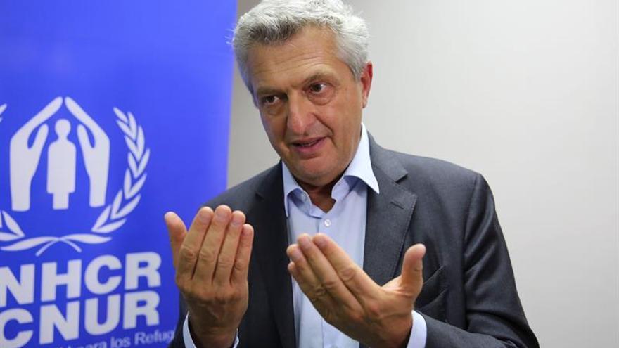 El comisionado de ACNUR pide el fin de la violencia en Birmania para acabar con el flujo de rohinyás