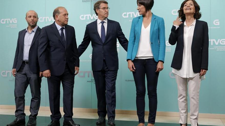 El estilismo de los candidatos a la Xunta, tan diferente como sus propuestas