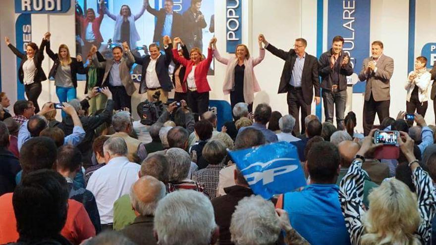 Presentación de la candidatura del PP en Teruel